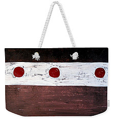 Alignment Original Painting Weekender Tote Bag