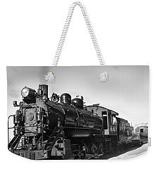 All Aboard Weekender Tote Bag by Robert Bales