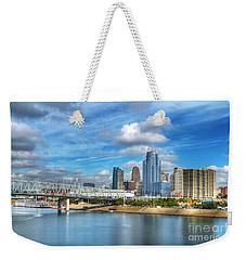 All American City 3 Weekender Tote Bag