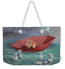 All At Sea Weekender Tote Bag by Cynthia House