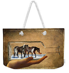 All Bottled Up Weekender Tote Bag by Davandra Cribbie