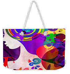 All Her Wonder 2 Weekender Tote Bag by Angelina Vick