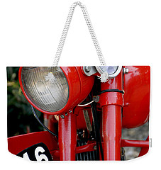 All Original English Motorcycle Weekender Tote Bag