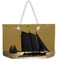 All Sails Sunset In Key West Weekender Tote Bag
