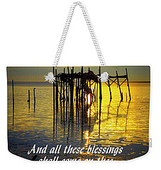 All These Blessings Weekender Tote Bag