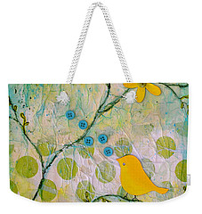 All Things Bright And Beautiful Weekender Tote Bag by Carla Parris