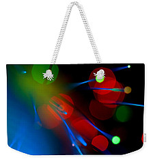 All Through The Night Weekender Tote Bag