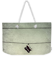 All Tied Up Weekender Tote Bag by Melanie Lankford Photography