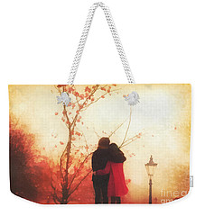 All You Need Weekender Tote Bag by Mo T