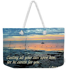 All Your Cares Weekender Tote Bag