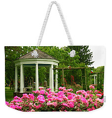 Allentown Pa Gross Memorial Rose Gardens Weekender Tote Bag