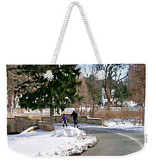 Allentown Pa Trexler Park Winter Exercise Weekender Tote Bag