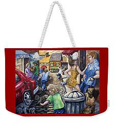 Alley Catz Weekender Tote Bag by Gail Butler