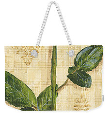 Allie's Rose Sonata 1 Weekender Tote Bag by Debbie DeWitt