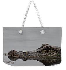 Alligator Eyes Weekender Tote Bag by Dan Sproul