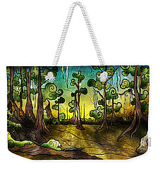 Alligator Swamp Weekender Tote Bag