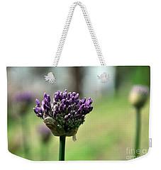 Allium Globe Budding Weekender Tote Bag