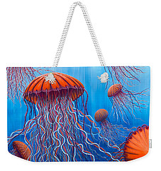 Ally's Orange Jellies Weekender Tote Bag