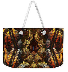 Weekender Tote Bag featuring the digital art Almost There by Lyle Hatch