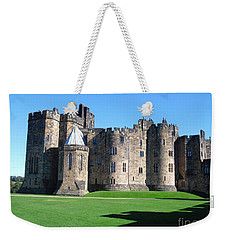 Weekender Tote Bag featuring the photograph Alnwick Castle Castle Alnwick Northumberland by Paul Fearn