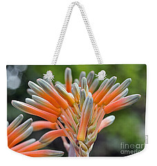 Aloe Vera Flower Weekender Tote Bag by George Atsametakis