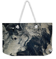 Weekender Tote Bag featuring the photograph Alone Again by Christiane Hellner-OBrien