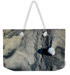 Weekender Tote Bag featuring the photograph Alone by Christiane Hellner-OBrien