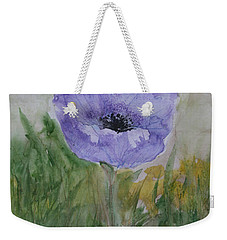 Weekender Tote Bag featuring the painting Alone by Marna Edwards Flavell