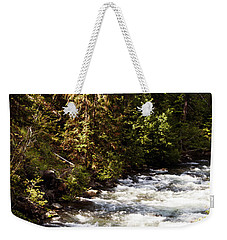 Along American River Weekender Tote Bag