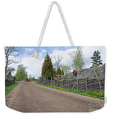 Along An Old Fashioned Road Weekender Tote Bag