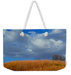 Along Big Bluestem Ridge Weekender Tote Bag