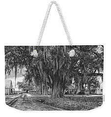 Along The River Road Near Vacherie La Weekender Tote Bag