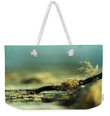 Weekender Tote Bag featuring the photograph Along The Sea-coast by Rebecca Sherman