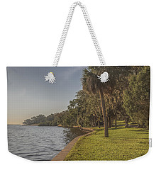 Weekender Tote Bag featuring the photograph Along The Wall by Jane Luxton