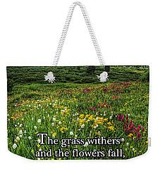 Alpine Meadow Weekender Tote Bag by Priscilla Burgers