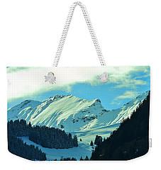 Alps Green Profile Weekender Tote Bag