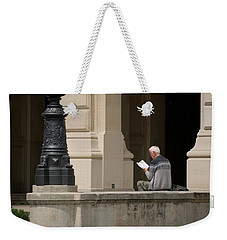 Weekender Tote Bag featuring the photograph Alte Oper by Steven Richman