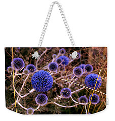 Weekender Tote Bag featuring the photograph Alternate Universe by Rona Black