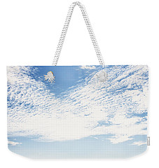 Altocumulus At Sea Weekender Tote Bag