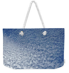 Weekender Tote Bag featuring the photograph Altocumulus Clouds by Jason Williamson
