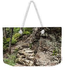 Alum Cave Trail Weekender Tote Bag by Debbie Green