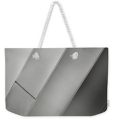 Aluminum Two Weekender Tote Bag