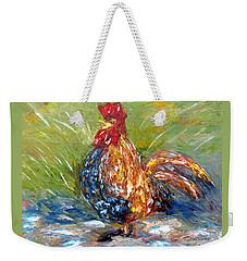 Amazed Rooster Weekender Tote Bag