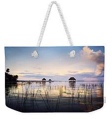 Amazing Bay Sunset Weekender Tote Bag