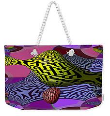 Mandelbrot Maze Weekender Tote Bag