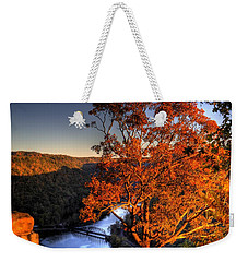 Amazing Tree At Overlook Weekender Tote Bag by Jonny D