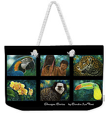 Amazon Series Collage Weekender Tote Bag by Sandra LaFaut