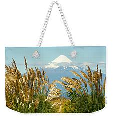Amber Waves Of Osorno Weekender Tote Bag