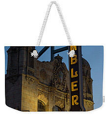 Ambler Theater Marquee Weekender Tote Bag by Photographic Arts And Design Studio