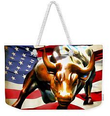 America Taking Charge Weekender Tote Bag